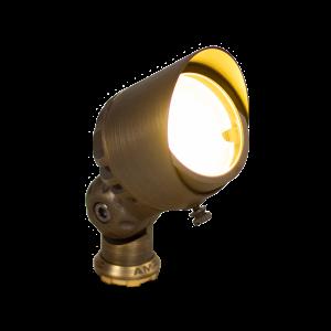 Brass LED Dimmable Spotlight